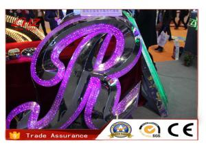China Aluminum Display Acrylic Sign Letters Outdoor / LED Channel Letter Sign on sale