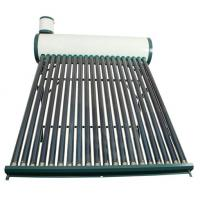 CE household Non-pressurzied solar hot water heater galvanized steel series