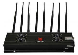 China 8 Band GPS Signal Jammer , Radio GPS Blocker Signal Jammer Satellite Phone on sale