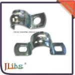U Type 2320 Galvanized Pipe Clamp Quick Release Without Rubber , 1.2mm Thickness