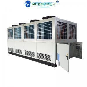 China Best Selling 450 Kw Easy Operate Eco-friendly Air Cooling Screw Water Chiller York Indonesia on sale