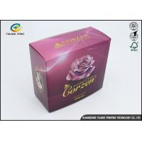 Personal Care Products Cosmetic Packaging Boxes With Offset Printing Foil And Emboss Logo