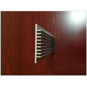 China 6063 Industrial Aluminum Heatsink Extrusion Profiles With Anodizing / CNC Machining on sale