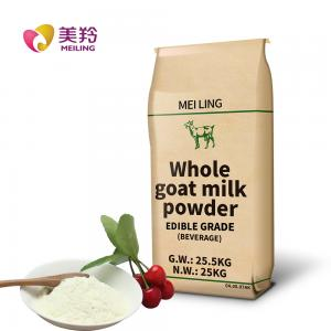 China 100% Natural Full Cream Goat Milk Powder Builds And Repairs Muscles And Bones on sale