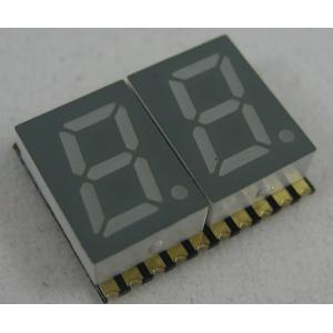 China 0.28 Inch Dual Digit Hyper Red SMD Digit LED Display for indoor use on sale