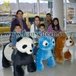 China Hansel shopping mall walking ride on animal toy walking animal rides for sale wholesale