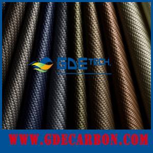China GDE 3k gsm custom carbon fiber fabric/cloth high strength on sale