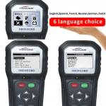 KW818 Konnwei OBD2 Scanner / Car Engine Code Reader For European Car