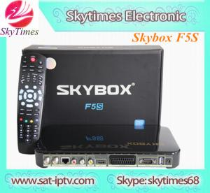 China skybox f5s , sky box f5s hd dvb-s2 digital satellite tv receiver on sale