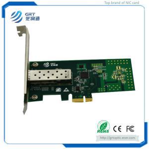 F901E Intel I210 1 25GbE 1-Port Fibre Optic Network Card with