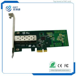 China F901E  Intel I210 1.25GbE 1-Port Fibre Optic Network Card with optimized performance and new power solution on sale