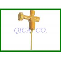 China Customize natural gas Tank Valves , V118 / Outlet thread G3/8-19LH on sale