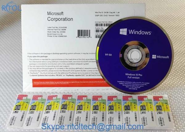 Software Activate Windows 10 Pro OEM 64 Bit Microsoft Windows 10 Pro  Product Key for sale – Windows 10 Pro OEM manufacturer from china  (109297002).