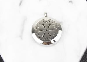 China Essential Oil Stainless Steel Diffuser Locket Round Shape For Decoration on sale