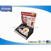 Cardboard Counter Display for Cosmetic Products,Liquid Makeup Beauty Products Display