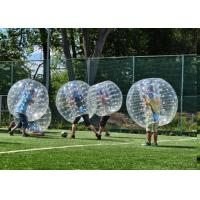 1.5m TPU Human Inflatable Bumper Bubble Ball For Adult With Logo Printing And Blower