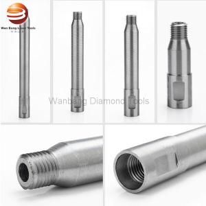 China OEM Diamond Core Drill Accessories Diamond Core Bits Extensions And Column on sale