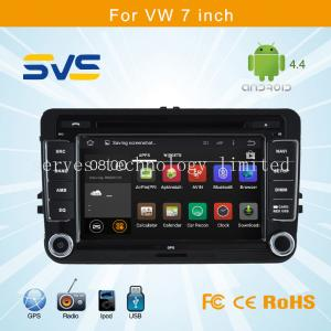 China Android 4.4 car dvd player GPS navigation for VW 7 inch/ Volkswagen sagitar/passat B6/polo on sale