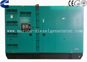 Quality 100KVA Silent Cummins Generator , 80KW Generating With Three Phase Alternator for sale