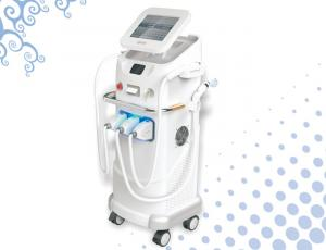 China 3 in 1 Multifunction IPL Q-Switched ND Yag Laser For Acne Removal 420 - 1200nm on sale