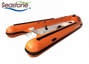 China 115hp Rescue Lightweight Inflatable Tenders RIB520A With Center Console Control on sale