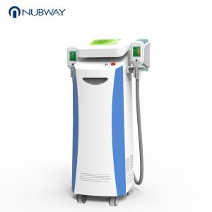 China Nubway best professional best selling 2 handpieces Cryo cryolipolysis italy body fat freezing burning slimming machine on sale