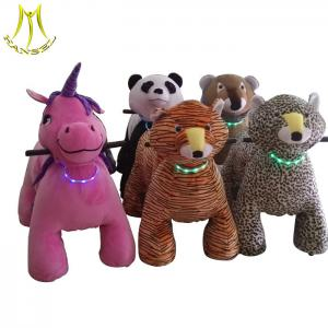 China Hansel  happy rides on animal coin operated children rides car kids on ride toy cars on sale
