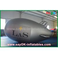 Giant Blow Up Plane Custom Inflatable Zeppelin For Outdoor Advertising