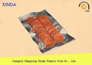 China 50-120 Micron Printed Vacuum Food Storage Bags For Meat Environment-friendly on sale