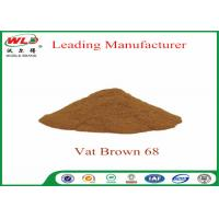 100% Purity Synthetic Dyes C I Vat brown 68 Brown G Not Dissolved In Water