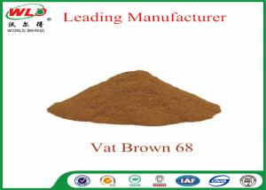 China 100% Purity Synthetic Dyes C I Vat brown 68 Brown G Not Dissolved In Water on sale