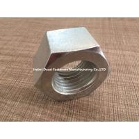Hot Galvanizing Surface M5 Hex Nut / SS Hex Nut For Home Decorating