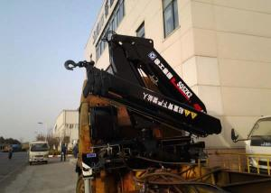China Knuckle Cargo truck bed mounted crane , 5 Ton Light Truck Loader Crane on sale