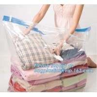 China Eco-Friendly zipper industrial vacuum storage bag, zipper vacuum cleaner filter bag, zipper silicone vacuum bag, bagplas on sale