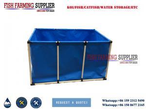 China PVC Fish Breeding Tank for Recirculating Aquaculture Fish Farming System on sale