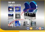 青い事実上の撃つ9D行為の映画館360度の回転タッチ画面HD 1080P