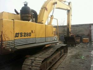 China SECONDHAND  SUMITOMO USED EXCAVATOR S280F2 FOR SALE ALSO HITACHI EX200-1 on sale