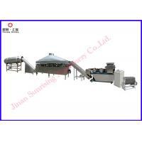 China stainless steel Wheat Flour based 3d Fried Snacks food Extrusion production line on sale