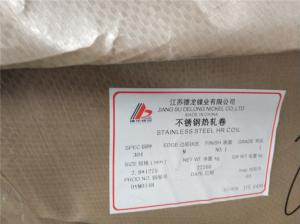 China 201 304 321 Stainless Steel Plate EN10088 - 2 Standard DIN 1.4550 / 347 / S34700 on sale
