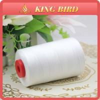 High Strength Spun 100% Polyester Sewing Threads 60S/3 Raw White