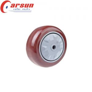 China 5 Inch Medium Duty Polyurethane Caster Wheel on sale
