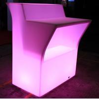 IR Remote Control Nightclub LED Furniture / Illuminated Outdoor Furniture