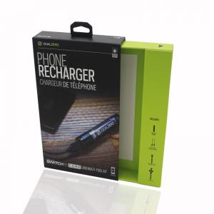 China Drawer Style Mobile Phone Accessories Packaging For Smart Phone Recharger on sale