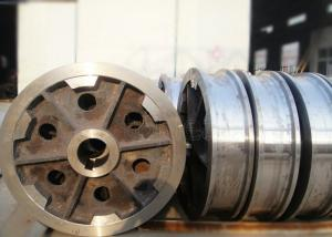 China 100t flexibly steel casting crane travel wheel shipyard harbour crane wheel on sale