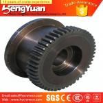 Electric double girder forged bridge travelling crane bridge wheels