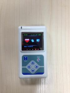 China 12 Channels TLC5000 24 Hours ECG Holter with LCD Display  Monitoring EKG System Heart Rate Tester on sale