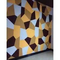 Sound Absorbing Acoustic Wall Panels Hard Interior Soundproof Polyester Fiber Board