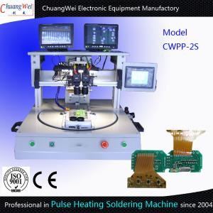 China High Technical Hot Bar Soldering Machine Rotary Table Type Pulse Heating on sale