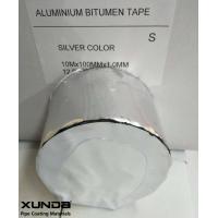alu butyl rubber tape for sealing waterproof bande aluminium butyl