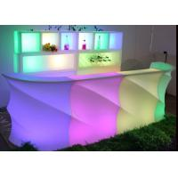 Used Nightclub LED Furniture Bar Counter / Led Furniture with Battery